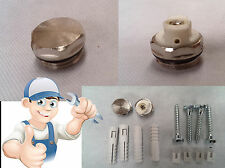 "1/2"" Radiator Fixing Kit, 1/2"" Radiator Air Vent And Bleed Plug Valve"