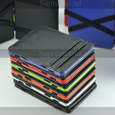 Ultra Thin Leather Magic Wallet Credit Card Holder Vertical Edition 6 Colours