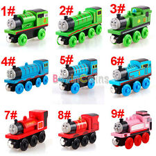 Learning Curve Small Wooden Model Thomas Train Fun Toy Head On Sale DH