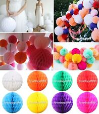 Hot Honeycomb Ball Paper Lanterns Hanging Wedding Party Table Home Decorations