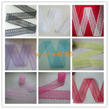Pretty! 10-50 yards ribbon lace embroidery free shipping! A variety of colors