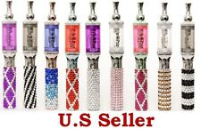 Quality Rhinestone vape Pen with Battery & Charger comes with e-juice  'e-Tonic'