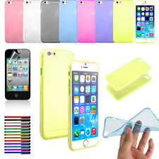 Fashion Ultra Thin Crystal Clear Soft TPU Cover Case Skin for 4.7 inch iPhone 6