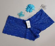 Small - Size 10 - Ladies' Lace Hipster-Boyleg Panties