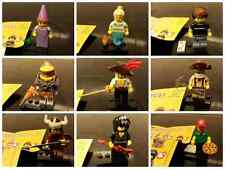 lego  mini figures series 12 !! spaceman miner swordsman games princess genie