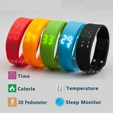 3D Activity Tracker Pedometer Walking distance Calorie counter Monitor Watch