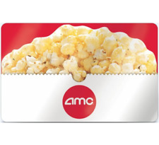 AMC Theatres Gift Card - $25 $50 or $100 - Fast Email delivery