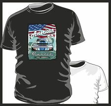 KOOLART AMERICAN MUSCLE CAR Ford Shelby mustang mens or ladyfit t shirt tshirt