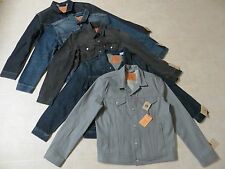 LEVIS TRUCKER JACKET SLIM FIT STANDARD FIT RELAXED FIT MENS DENIM JEAN JACKETNWT