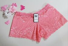 XS - Size 8 - Ladies' Lace Hipster-Boyleg Panties