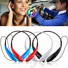 Handfree Wireless Bluetooth Headset Sport Stereo Headphone for Samsung iPhone LG