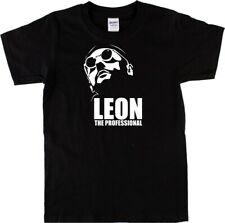 Leon The Professional Image T-shirt - Cult Film, Hitman Mob, All Sizes & Colours