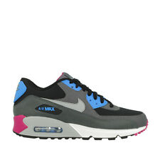 Nike Air Max 90 Essential Black/Wolf Grey Mens Running Shoes 537384 009