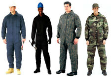 Insulated Coveralls Cold Weather Mechanics Hunters Jumpsuit Rothco Military 9015