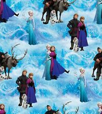Disney's Frozen Cotton Fabric Remnant Pieces by Springs Creative! Prices Vary!