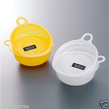 2pcs Fruit Washing Colander Drainers Fruit Bowl Vegetables Baskets Free Shipping