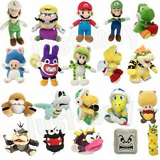New Super Mario Bros. U Wii 3D World Land Plush Soft Toy Stuffed Animal Doll
