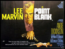 Point Blank FRIDGE MAGNET Lee Marvin Classic Movie Poster CANVAS Print