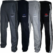 Mens Adidas Originals SPO Fleece Trefoil Tracksuit Pants Bottoms S, M, L, XL