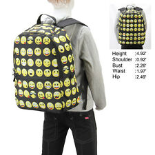 Emoji Backpack Smiley Mood Day Pack Women Backpack Boy Girls Book Bag Seasonable