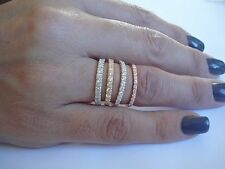 Diamond Wedding Ring/Band Classic 10K.Gold Engagement/Anniversary Handmade in US