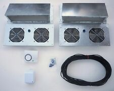 Crawlspace Ventilation Kit - Exterior Mount, Low Voltage, Dehumidistat Control.