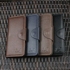 New Mens Leather Wallet Pockets Card Clutch Bifold Coin Purse Checkbook Wallet