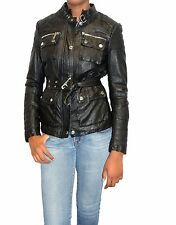 Women's MICHAEL KORS Belted Leather Jacket