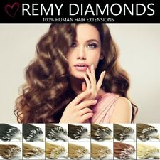 "18"" 200's 0.5G ★LONG/STRAIGHT MICRO LOOP REMY HUMAN Hair Extensions★UK SUPPLIERS"
