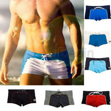 Men's Swimwear Swimming Trunks Swim Short Beach Pants Sexy Sports Boxers New