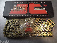 MOTORCYCLE MOTORBIKE 428 PITCH GOLD CHAIN HEAVEY DUTY CHOOSE YOUR LENGTH