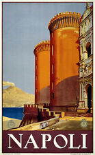 120 Vintage Travel Poster  Napoli  *FREE POSTERS