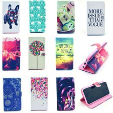 New Stand Flip Wallet Leather Card Case Cover Protector for Smart iPhone Samsung