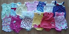Lots Of Girl's 0-3 M Months One Piece Outfits Rompers Carter's, Gymboree 1st Imp