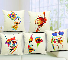 1X Art Facebook Cushion Cover For Sofa/Bed/Car/Chair Waist Pillow Case