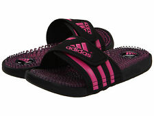Women's Adidas Adissage Fade Black Slides Shower Sport Sandals V20676 Sizes 6-10