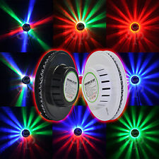 4X Sunflower 48 LED RGB Light Voice-Activated / Auto Rotating Party Stage Lights