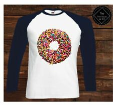 Donut Baseball Long Sleeve Top | Food Dope Hipster Girls Shop Urban Hype Fresh