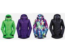 Volcom Snowboard BOLT INSULATED Ski Jacket 60g Poly AUTHENTIC Womens NEW 2015