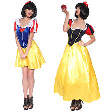 Fairytale Snow White Storybook Character Fancy Dress Party Costume Outfit