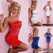 NEW SEXY WOMENS LADIES SIZE 8 10 12 PARTY CLUB WEAR COCKTAIL EVENING DRESS