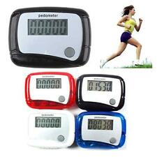 New Clip LCD Screen Step Walk Running Counter Pedometer Clip Weight Calorie Loss
