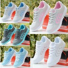 Fashion Women's Breathable Recreational Sports Running Casual Flat shoes NX343