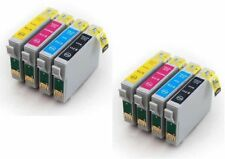 8PK COMPATIBLE SERIES INK CARTRIDGES FOR EPSON STYLUS INKJET PRINTER
