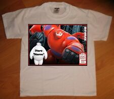 """Big Hero 6"" Personaliz​ed T-Shirt - NEW"