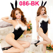 Hot Full Set Dress Uniform Sexy Cosplay Costume Fancy Bunny Rabbit Lingerie 086