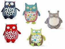 Annabel Trends Pillow Pals Large Soft Toy Owl Baby's Kids Children