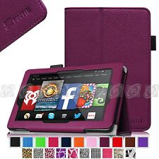 """Fintie Slim PU Leather Folio Case Cover Stand For Fire HD7 7"""" 2014 Model Tablet"""