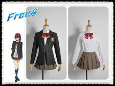 Free! - Iwatobi Swim Club Gou Matsuoka Cosplay Costume HighSchool Girl Uniform
