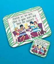 MOUSE PAD AND COASTER SETS
